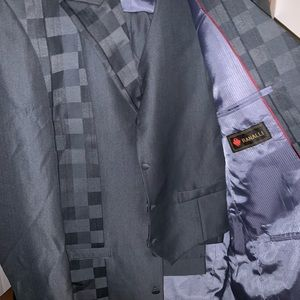 Ranalli 3 piece suit grey 42R top and 38L bottom